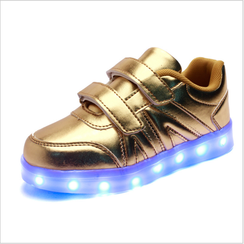 Warm like home USB Charger Glowing Sneakers Basket Led Children Lighting Shoes Boys Girls illuminated krasovki Luminous Sneaker