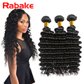 Grace Hair Products Peruvian Deep Wave 3Pcs Peruvian Curly Hair Weave Unprocessed Peruvian Deep Curly Virgin Hair Bundle Deals