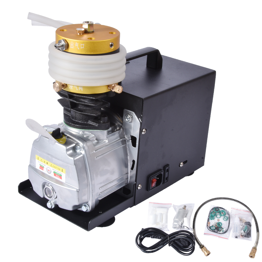 1 pcs / lot 30MPa air compressor 220 V 50Hz high pressure air pump Electric cylinder 2800R/min High pressure air pump