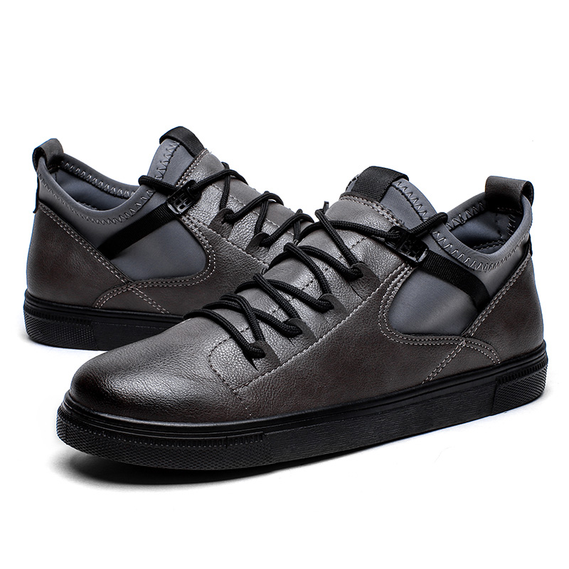 YON-DREAM 2018 New Arrival Fashion Black Shoes Men Spring Summer Breathable Leisure Sneakers Rubber sole Camouflage Lace-up Shoe