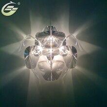 Creative Wholesale Modern Wall Lamp Acrylic Transparent E27 Dia 52cm 65cm Lighting Fixtures Decor