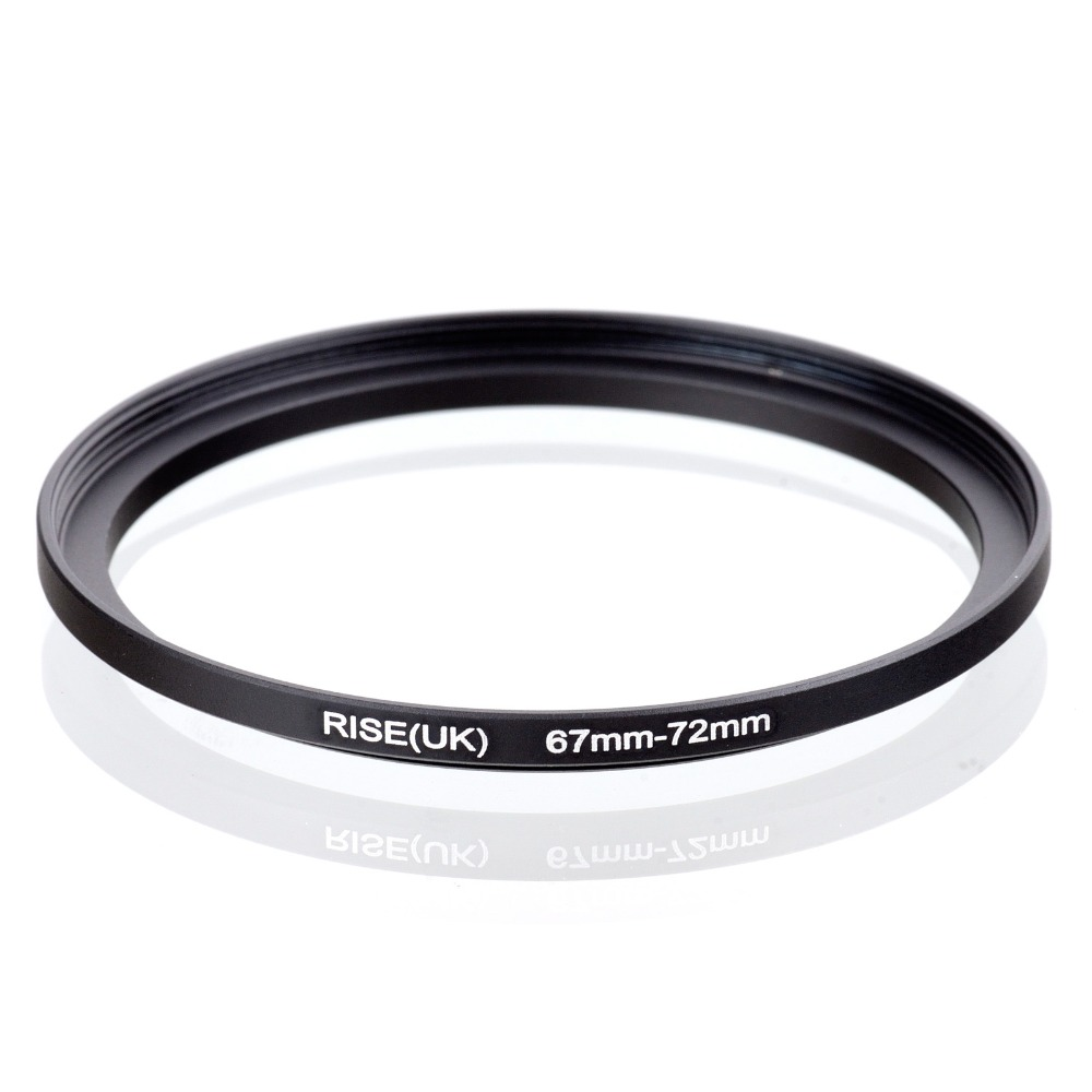 Original RISE(UK) 67mm-72mm 67-72mm 67 To 72 Step Up Ring Filter Adapter Black
