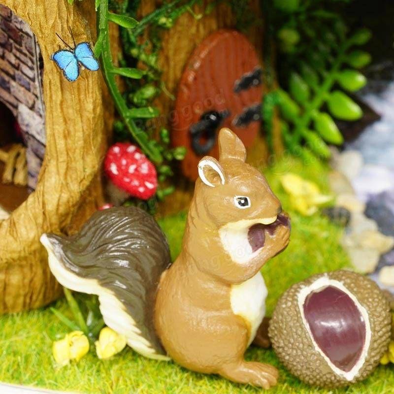 DIY Miniatura Holz Handgemachte Dollhouse Kit Bilderrahmen Design ...