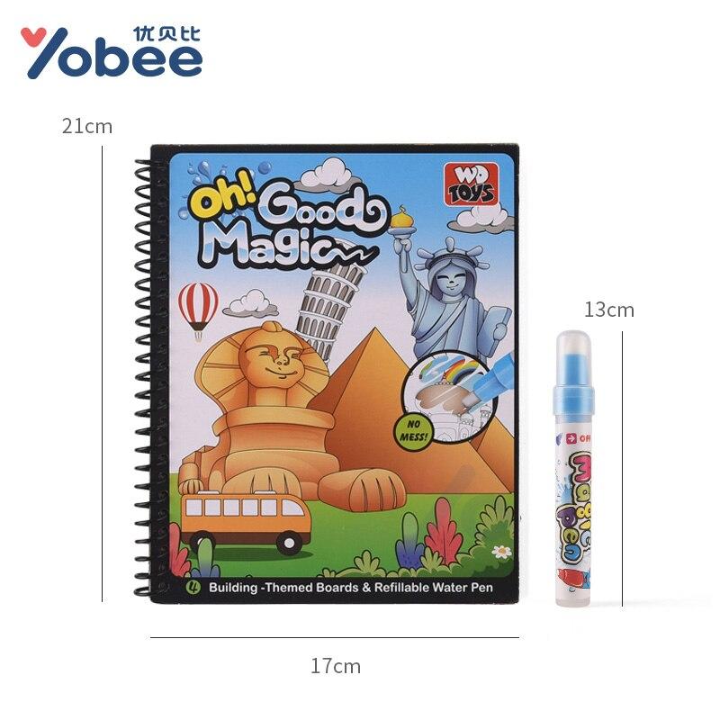 Brinquedos de Desenho revelar pintura coloração livro de Classificação : Caderno Didático/caderno para Colorir com Tinta