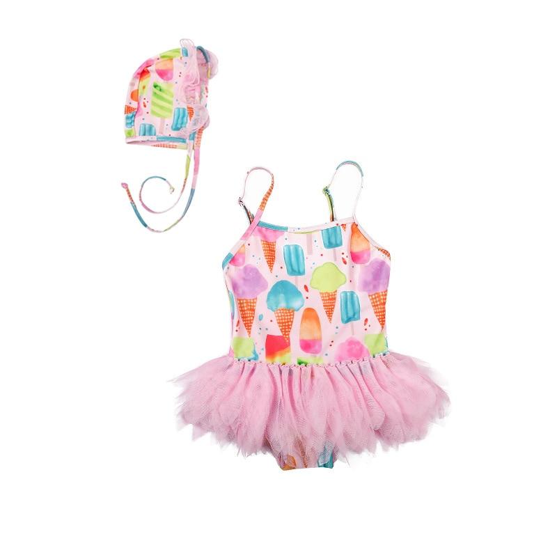 2019 Ins Mode Kinder Eis Bademode Für Baby Mädchen Kinder Schöne Tutu Einem Stück Tutu Badeanzug Tanzen Kleidung Um Eine Reibungslose üBertragung Zu GewäHrleisten