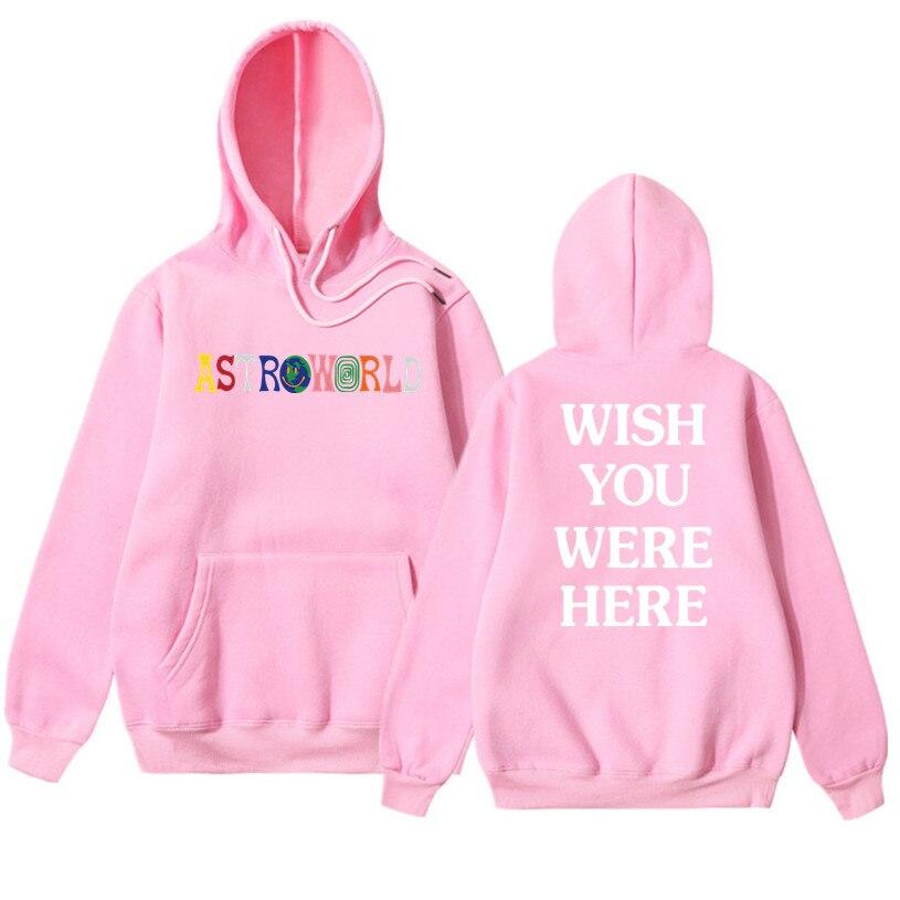 0c4f34433665 Αντρικές μπλούζες με κουκούλα & φούτερ 2019 NEW Men hoodies Travis Scott  Astroworld WISH YOU WERE HERE Sweatshirt Men fashion letter print Hoodie Men  and ...