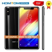 Original HOMTOM H10 5.85 inch Android 8.1 4GB+64GB Mobile Phone Fingerprint Face ID MTK6750T Octa Core 16MP 8MP OTG Smartphone