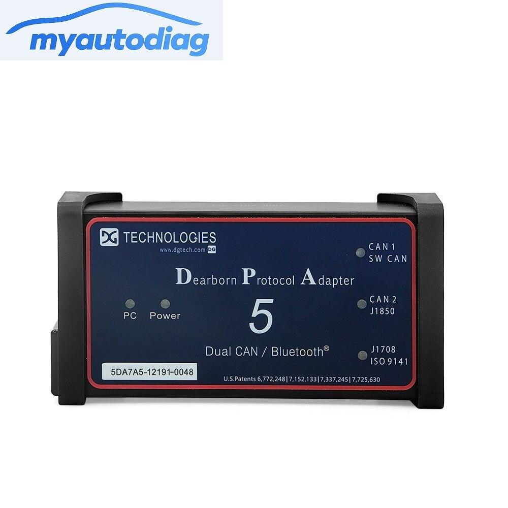 Hot Portocol Adapter 5 Heavy Duty Truck Scanner DPA 5 USB Link Without Bluetooth as NEXIQ Truck DPA 5 DPA5 Free shipping