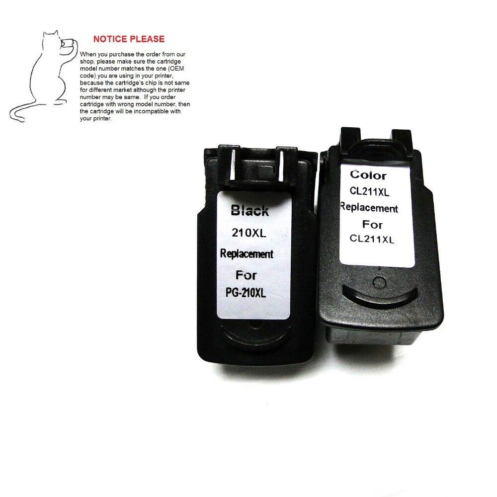 YOTAT remanufactured inktcartridge PG210 CL211 voor Canon PIXMA MX320 - Office-elektronica