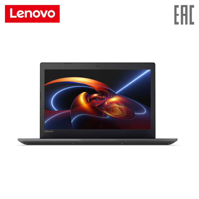 "Ноутбук lenovo 320-15IAP 15,6 ""/N4200/4 ГБ/128 ГБ SSD/Intel HD 505/noodd/Win10/черный (80XR00X5RK)"