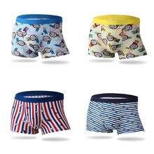 New Boxer Men 3Pcs/lot Underwear Brand Bamboo Fiber Shorts Fashion Sexy Male Panties Comfortable Breathable Underpants