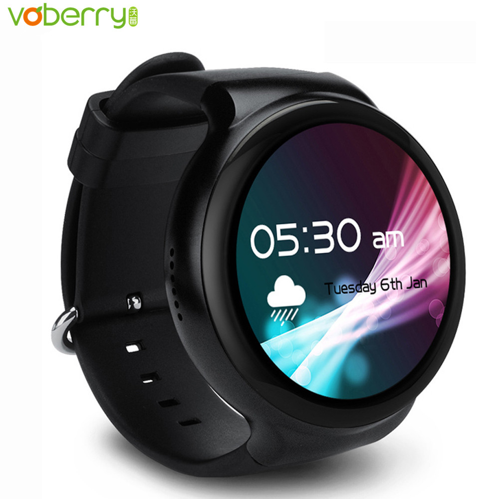 Galleria fotografica Voberry I4 Pro 3G Bluetooth Smart Watch in MTK6580 Ram 2 GB Rom 16 GB Android 5.1 Wifi GPS Quad Core <font><b>Smartwatch</b></font> Per Andorid/IOS 37