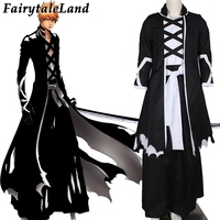 Custom Made Bleach Kurosaki ichigo Cosplay Costume Bleach cosplay outfits Halloween cosplay costumes for adult
