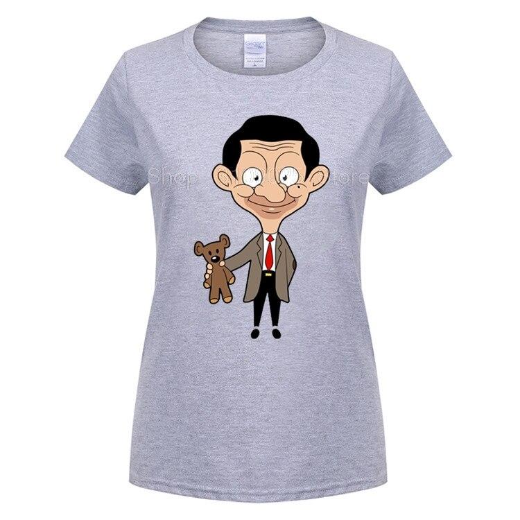 Возьмите взрослая Женская улыбка Mr. bean последние футболки летом прохладно Дизайн человек хлопок футболка мальчиков короткий рукав большой ...