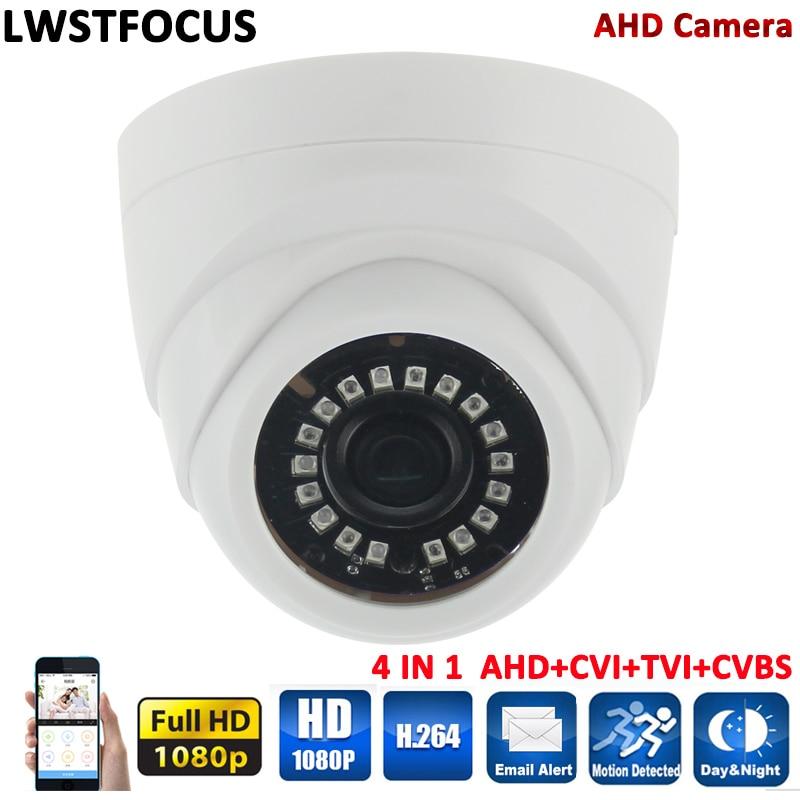 LWSTFOCUS 1 2 7 Color CMOS Sensor AHDH 1080P AHD Camera Indoor Dome Security Camera AHD