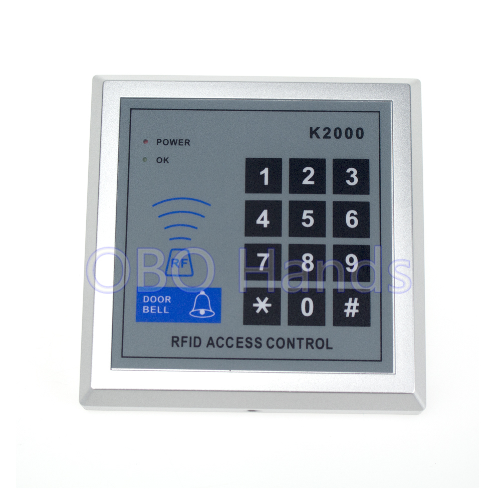 100pcs K2000 Door Access Control Keypad RFID ID Cards Proximity Reader for Home Offices Security System