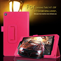 """Cover Case For Lenovo Tab 2 Tab2 A7-20 A7-20F A7 20F 7"""" Tablet Stand Leather Cover Litchi Grain Protective Folio Skin Shell Case"""