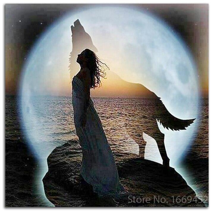 Фото девушка волчица