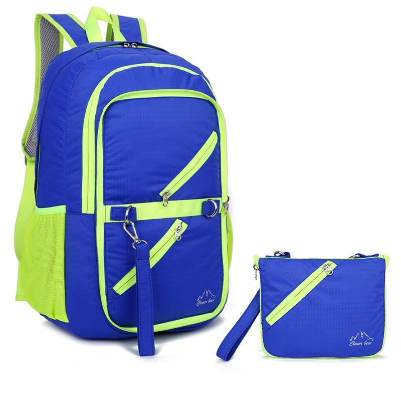 16L Multi-functional Sport Bags Outdoor Backpack Ultra Lightweight Water-resistant Nylon Travel Trekking Hiking Foldable Bag
