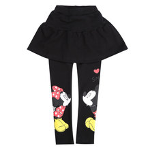 Minnie Mouse mickey pants 2015 NEW Childrens fashion tutu skirt for girl cotton Casual pantskirt