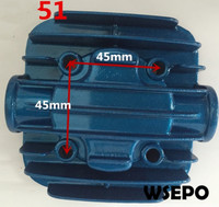 Quality Pneumatic Tools Parts! Cylinder Cover fits for DF51 51mm Bore Size Piston Type Air Compressor
