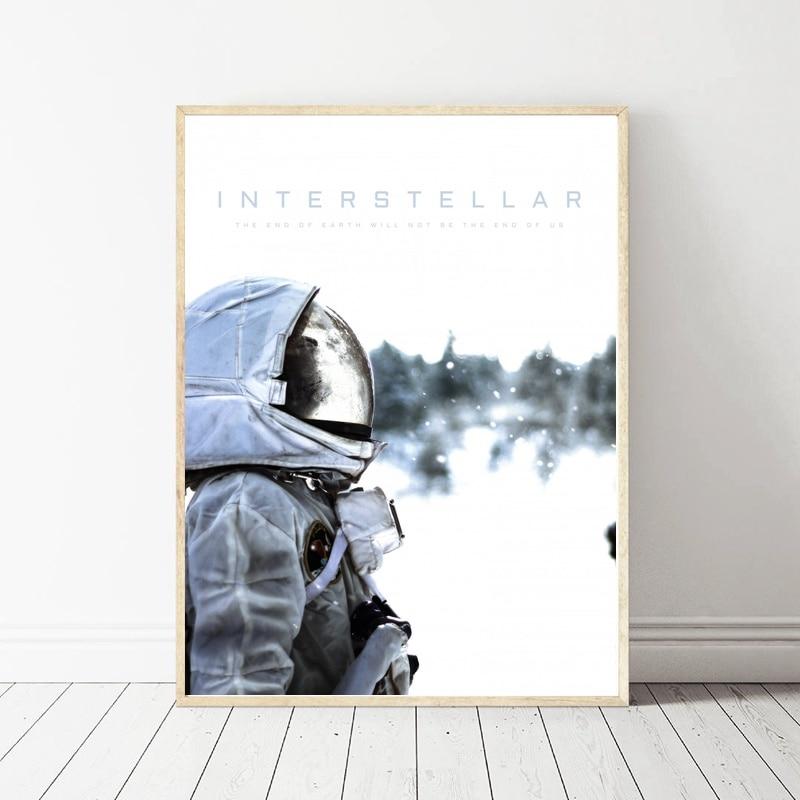 Interstellar Movie Art Silk Poster Room Wall Decor No Frame Painting Calligraphy Aliexpress