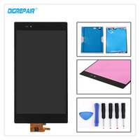 Black For Sony Xperia Z Ultra XL39h XL39 C6806 C6843 C6833 LCD Display Digitizer Touch Screen