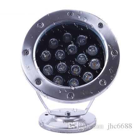 LED Underwater Fountain Light 9W 18W 12V 24V 85-265V Swimming Pool Pond Fish Tank Aquarium LED Lamp IP68 Waterproof Lighting