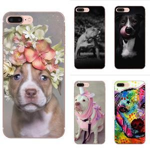 Cute And Lovely Dog Pitbull Soft For Galaxy J1 J2 J3 J330 J4 J5 J6 J7 J730 J8 2015 2016 2017 2018 mini Pro(China)