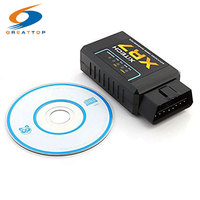 Universal XR7 OBD V2.1 ELM327 OBD2 Bluetooth Auto Scanner OBDII 2 Auto Tester CAN-BUS Diagnose-Tool für Android Symbian Windows