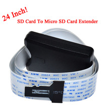 SD Card To Micro SD Card Extension Extender Cable SDHC SDXC 64gb Compatible GPS TV Micro SD Card Adapter