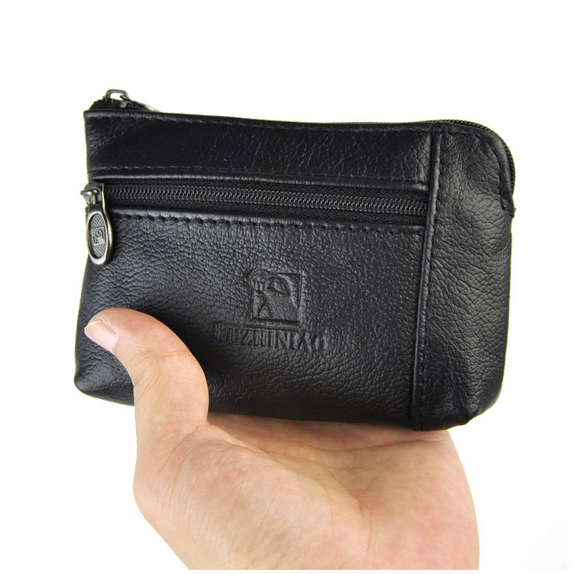Women Genuine leather Coin Wallets Unisex Zipper Coin Purse Men Storage Pocket Female Male Purses Pouch Card Holder Key Ring 2017 european and american style men wallet genuine leather wallets fashion zipper coin pocket purse card holder purses