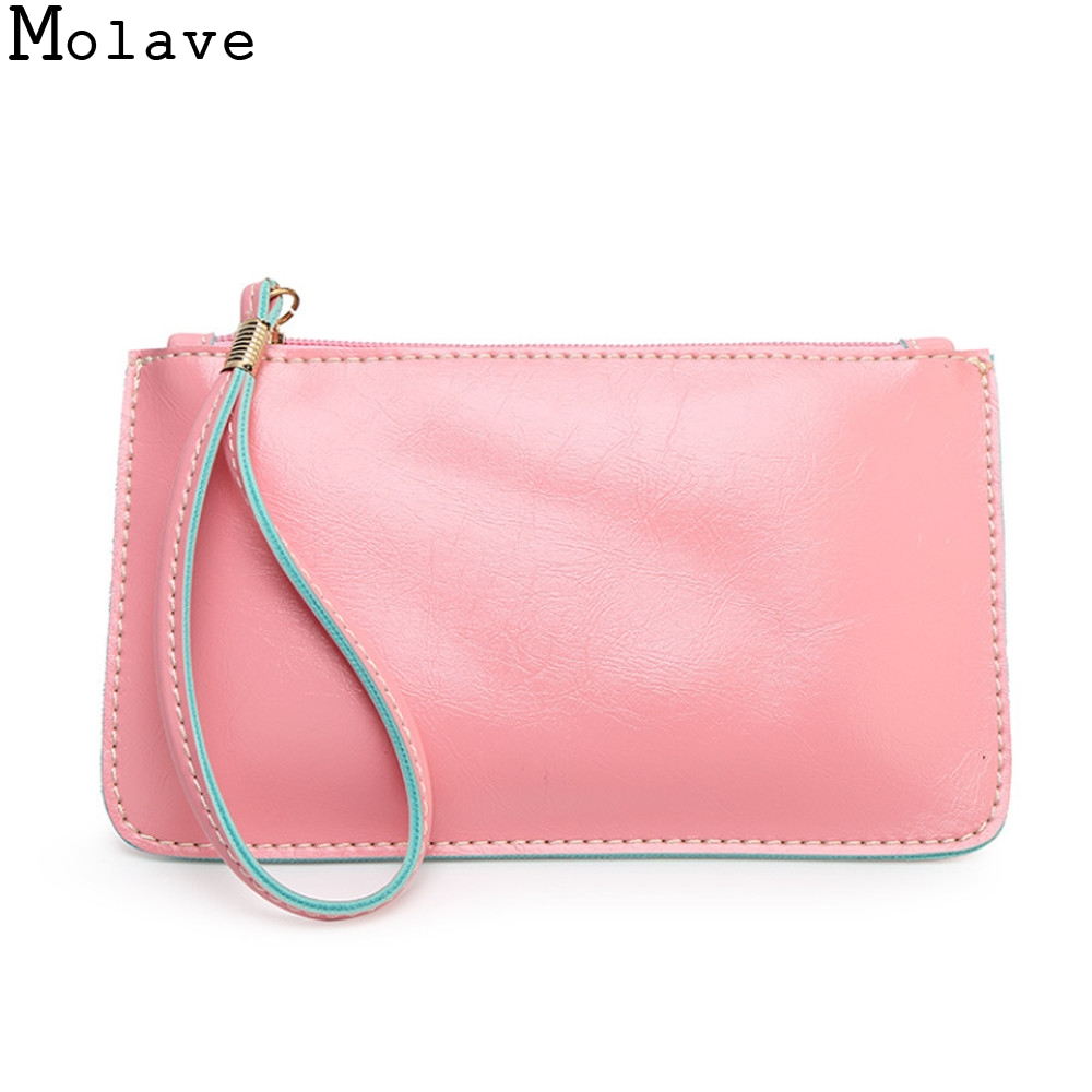 New Fashion Girls Candy Colors Sweet Coins Change Purse Clutch Zipper Envelope Key Bags Women Portable Money Phone Purse Jan17 aelicy women wallet printing coins change girls purse clutch zipper zero phone key bags dropship new 2018 hot carteira feminina