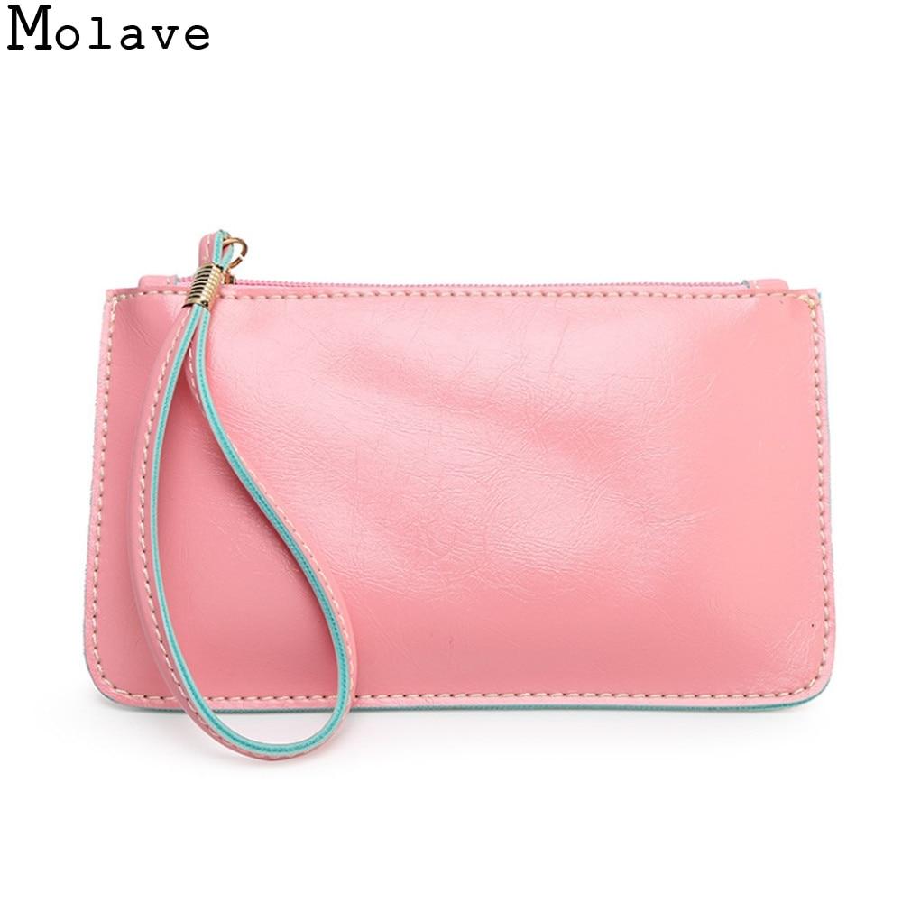 New Fashion Girls Candy Colors Sweet Coins Change Purse Clutch Zipper Envelope Key Bags Women Portable Money Phone Purse Jan17 ...