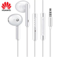 Écouteurs Huawei Honor AM115 casque micro 3.5mm pour HUAWEI P7 P8 P9 Lite P10 Plus Honor 5X 6X Mate 7 8 9 smartphone(China)