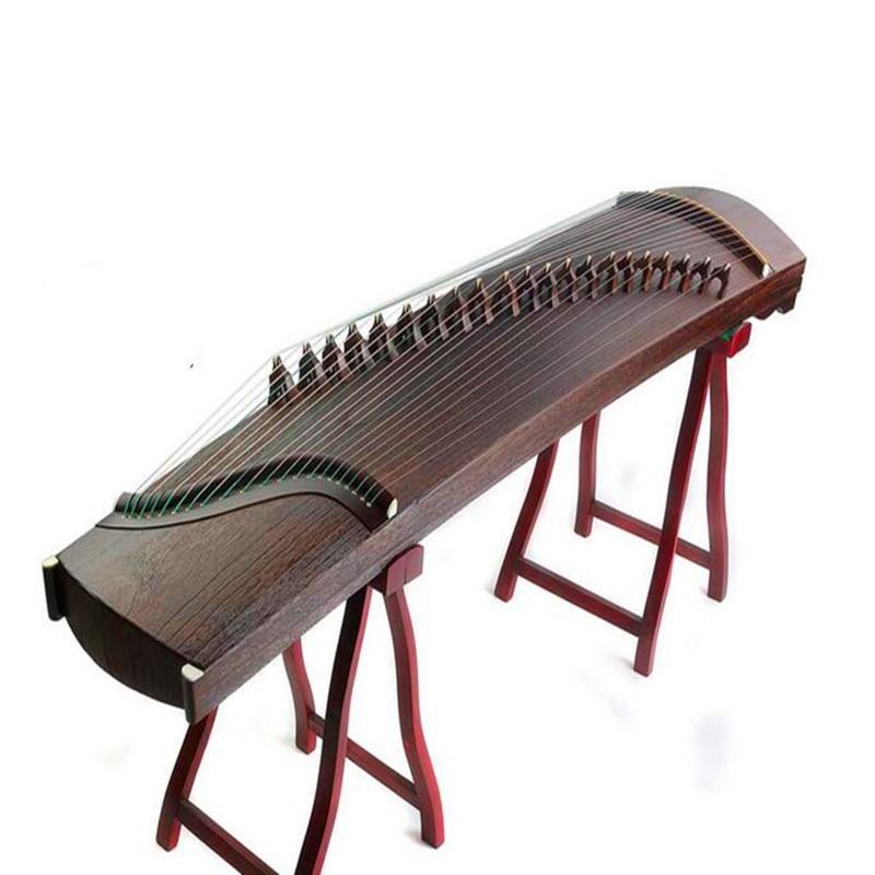 L'ensemble paulownia Haute Qualité Chine Guzheng musique platane Professionnel Blanc jouant guzheng Cithare 21 Cordes Accessoires Complets