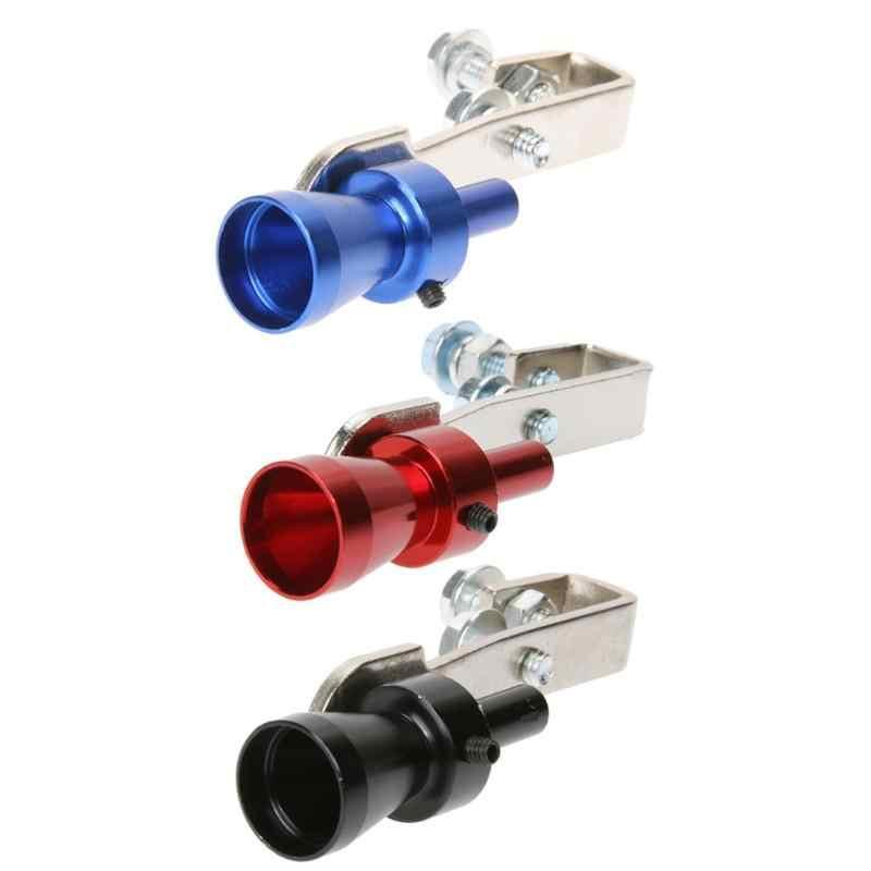 3 kleuren Auto Turbo Sound Whistle Muffler Uitlaatpijp Whistle Fake Blow-off Simulator Whistler voor Voertuig Micropole Uitlaten