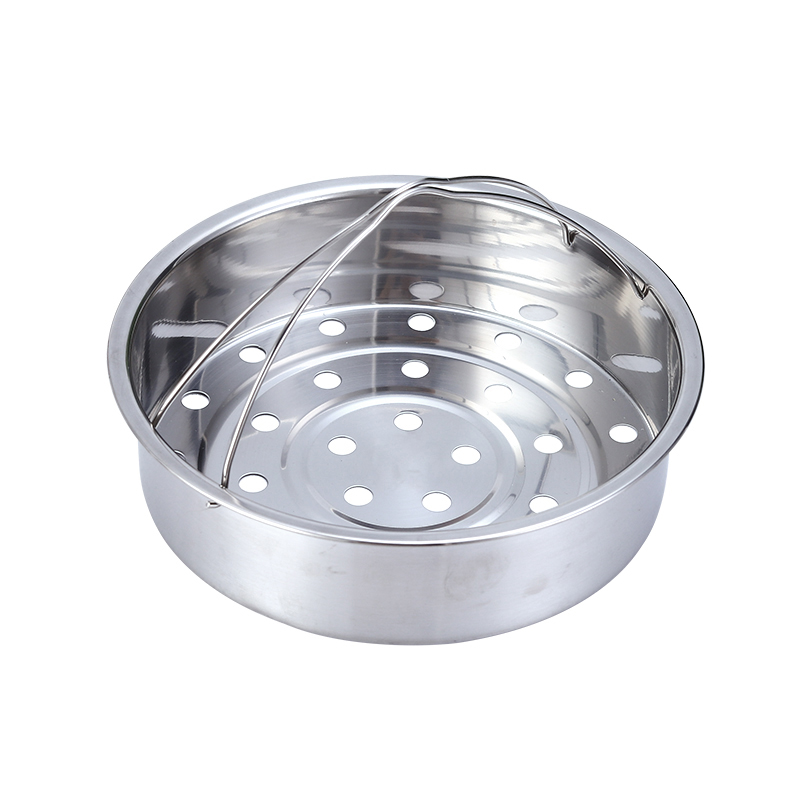 Stainless Steel Steamer Rack Stand Vegetable Buns Steamed Food Steaming Holder Round Pot Tray Stand Kitchen Supplies Gadget
