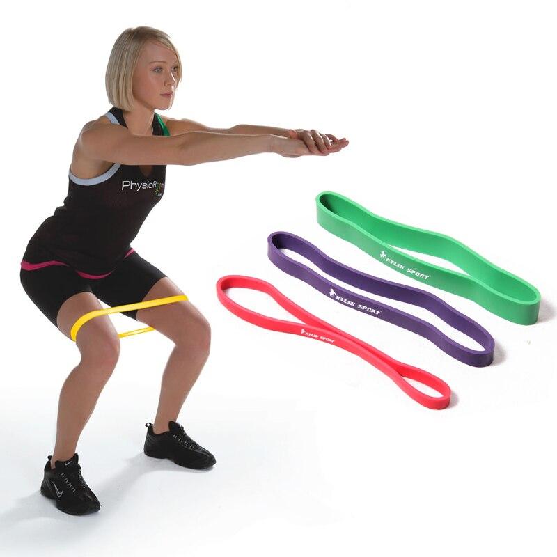 크로스 체력 저항 루프 라텍스 밴드 바디 체육관 훈련 powerlifting 도매 및 무료 배송에 대한 빨간색 당겨