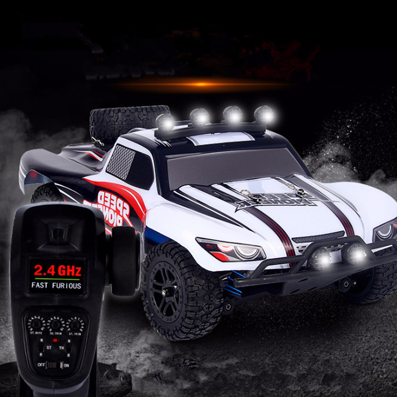 Rc car 2.4 WD 1:18 SUV High Speed Remote Control Car on the Control  for Boys Four-wheel Drive off-road Climbing Car  Brinquedos 1 18 electric rc car toy four wheel drive 2wd 2 4g high speed off road car model toy remote control car up to 40kmh per hour