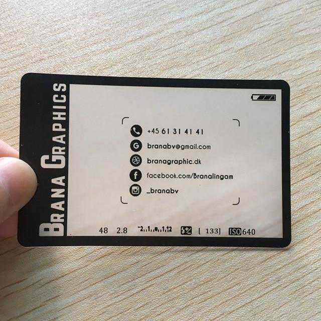 500 個/デザインカスタム透明名刺マットプリント 85.5*54 ミリメートル ID 名カード  グループ上の オフィス用品 & 学用品 からの 名刺 の中 1