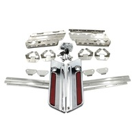 Hard Saddlebag Hardware Latch Lock Hinge Kits For Harley Touring Road King Electra Street Glide 96 13 FLHX FLHR FLH/T