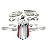 Hard Saddlebag Hardware Latch Lock Hinge Kits For Harley Touring Road King Electra Street Glide 96 13 FLHX FLHR FLH/T