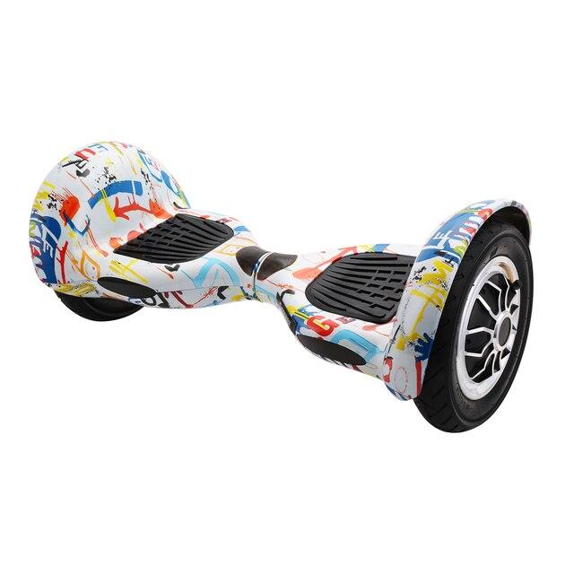 Hoverboards 10 polegada Auto Equilíbrio Scooter Elétrico Hoverboard  Gyroscooter Oxboard Skate Duas Rodas Ao Mar com 125a55848d7