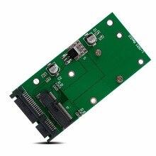 Горячая mSATA SSD до 2,5 ''SATA 6,0 Gps адаптер конвертер карты модуль Плата Pad Pcie