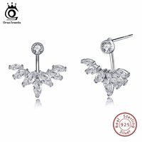 ORSA JEWELS Women Designer Luxury Earring Pure Sterling Silver High Quality Trendy Silver 925 Jewelry Earrings