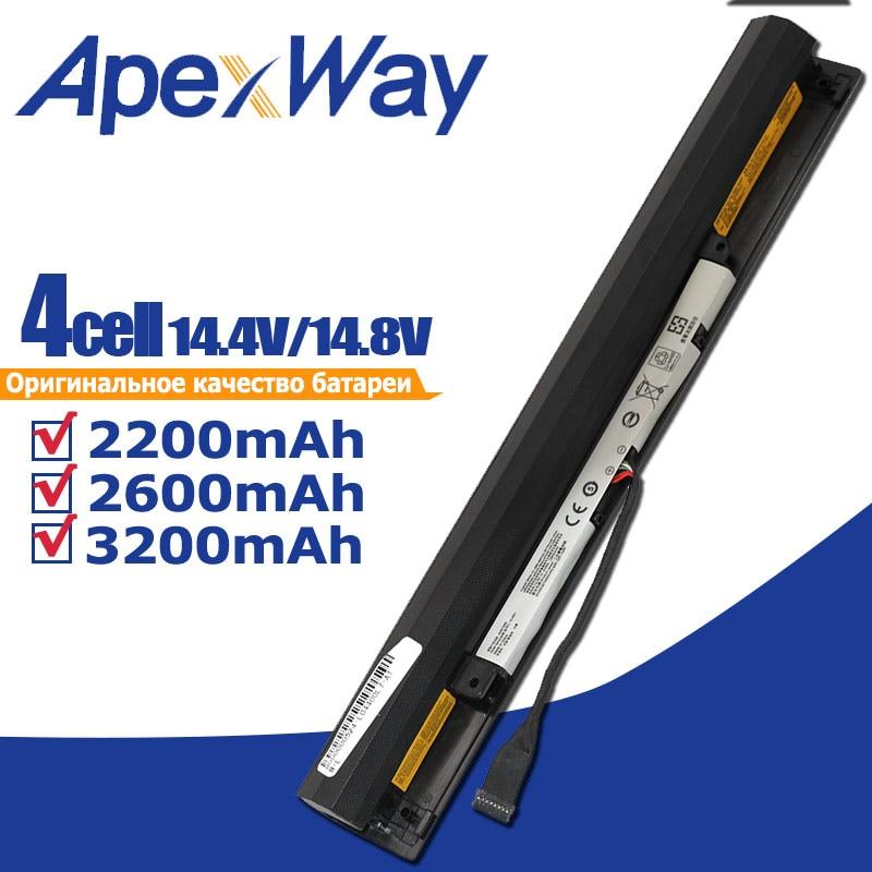 ApexWay L15S4A01 L15L4A01 L15M4A01 L15E4A01 Battery For Lenovo V4400 Ideapad 100-15IBD