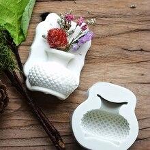 Mold-Vase Soap-Mould Fondant-Mold Flower Cake-Decorating Chocolate Gumpaste 3d Silicone