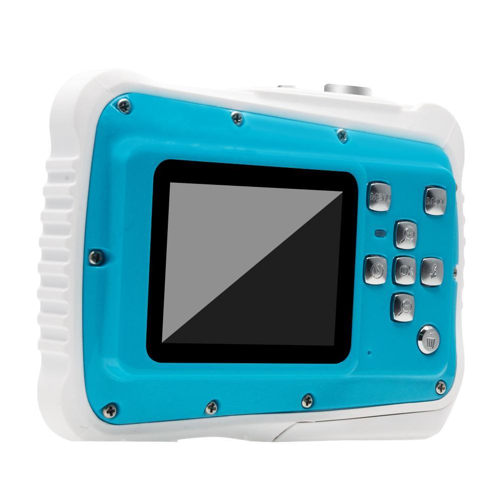 Caméra numérique étanche enfants caméra numérique 21MP HD caméra d'action sous-marine caméscope 2.0 pouces écran LCD 8X Zoom numérique - 2