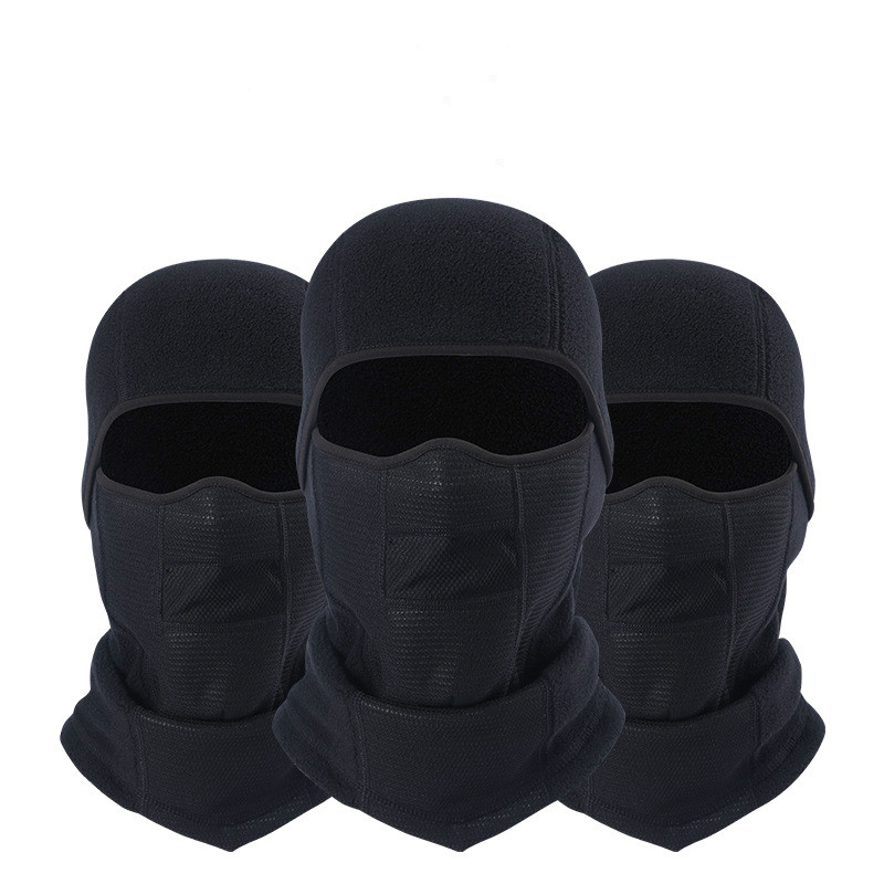 2018 Motorcycle Mask Riding Racing Ski Cap Full Cotton Wind-proof Warm Suncreen Headgear Cs Tactical Flying Hood Dust Cap Liner